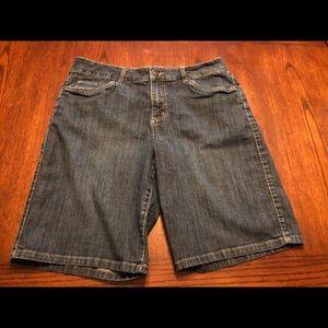 Merona Stretch Blue Jean Short